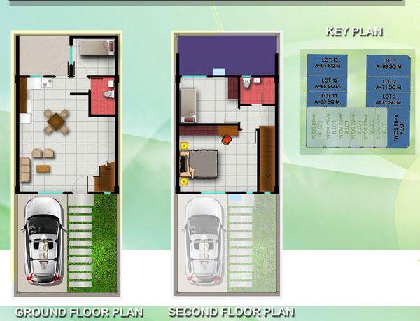 woodland liloan townhouse floor plan