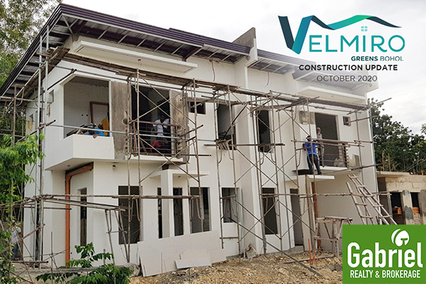 construction updated of velmiro greens bohol