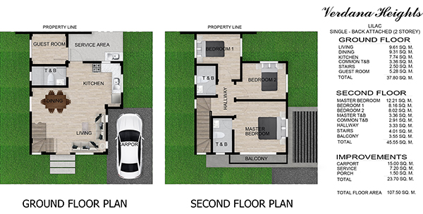 lilac model floor plan in verdana heights