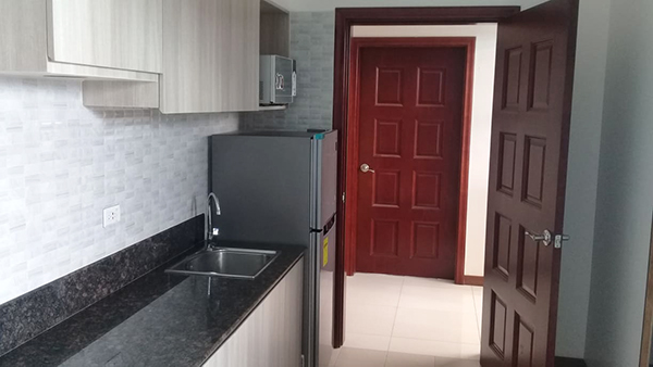 fully furnished studio condominium for sale in ayala