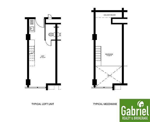 loft flor plan in bloq residences sikatuna