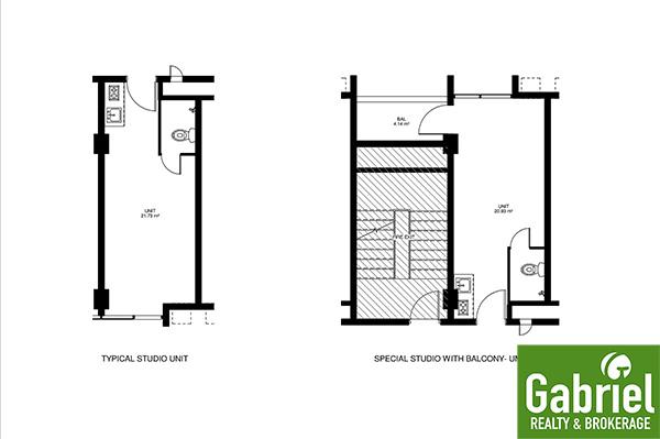studio unit floor plan in bloq residences sikatuna
