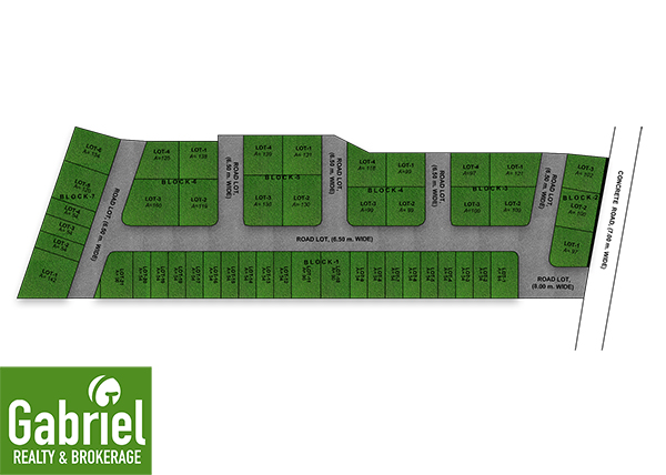 site development plan of verdana heights