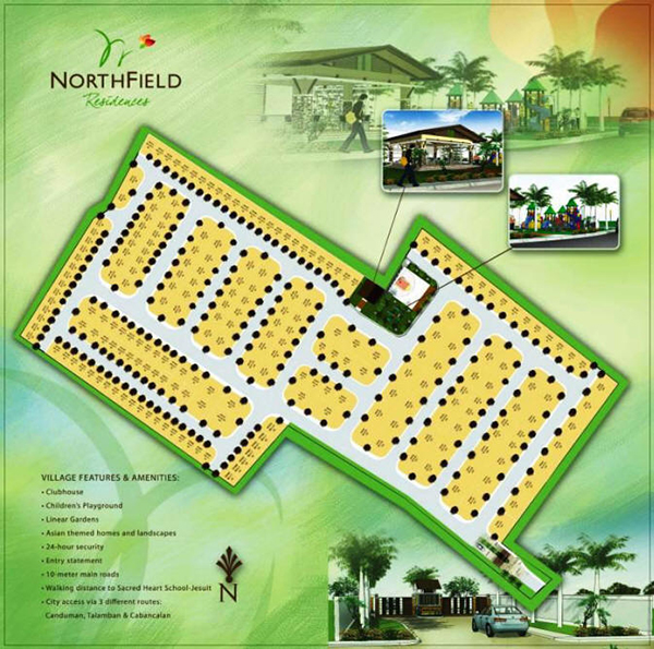 site development plan of northfield residences mandaue