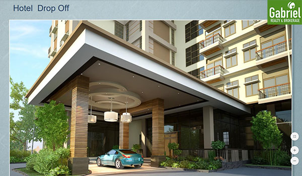 hotel drop off area, one tectona hotel liloan