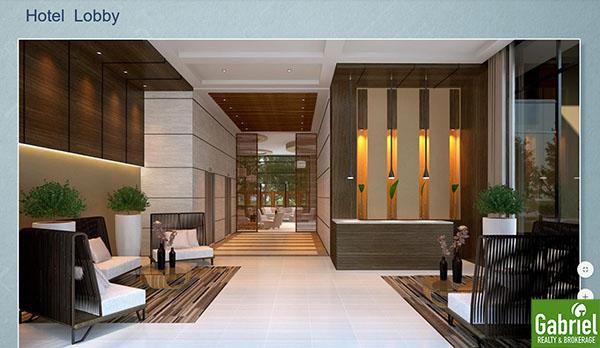 one tectona hotel lobby