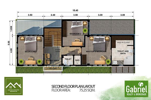 house floor plan in mactan country residences