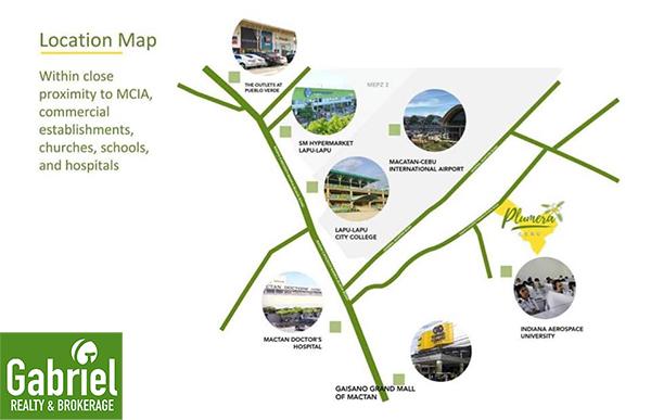 vicinity map of plumera mactan