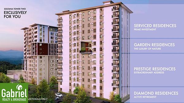 building floor plan of soltana nature residences