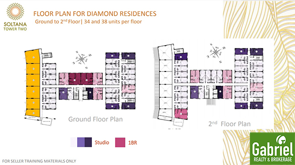 floor plan for diamond residences, soltana tower 2