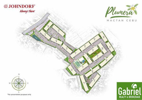 site development plan of plumera mactan
