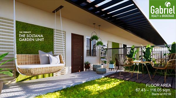 garden unit in soltana tower 2