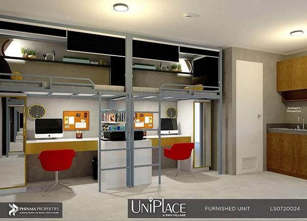 fully furnished condo in uniplace cebu