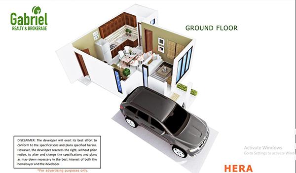 box hill west, singled detached floor plan