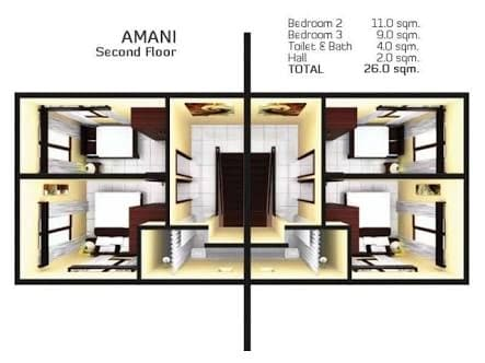 house floor plan in almiya residences