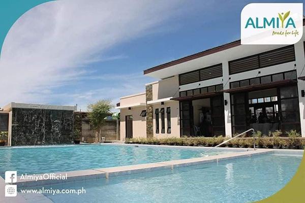 swimming pool in almiya residences