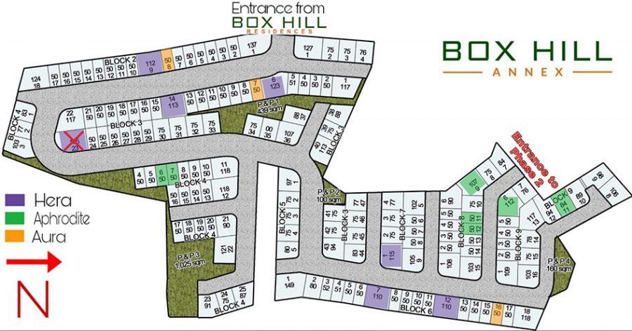 box hill residences annex site development plan