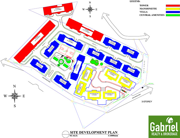 site development plan of apple one banawa