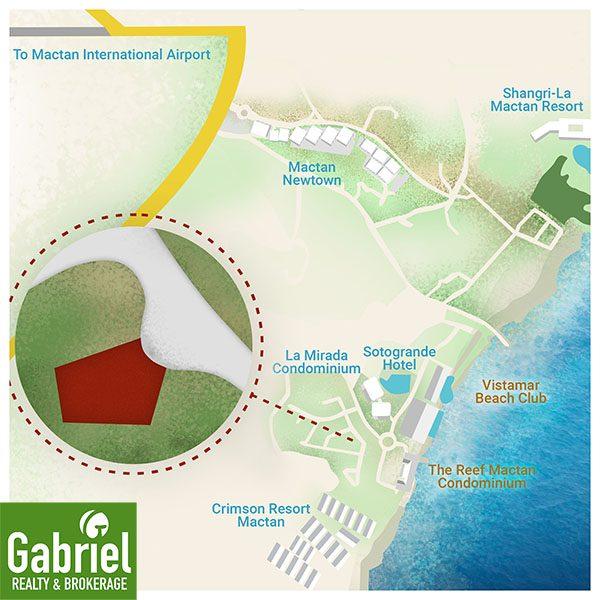 vicinity map of amuma mactan resort