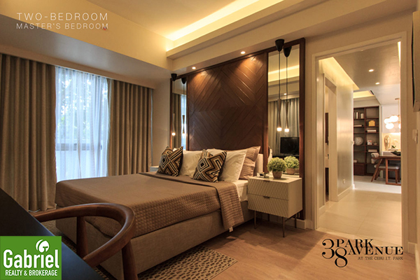 2 bedroom floor lay out, 38 park avenue