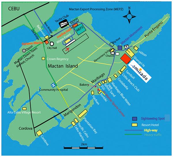 la mirada residences vicinity map
