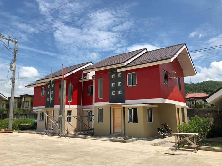Single attached house for sale in minglanilla