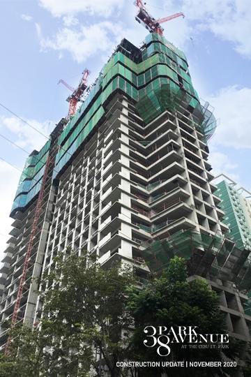 construction update of 38 park avenue