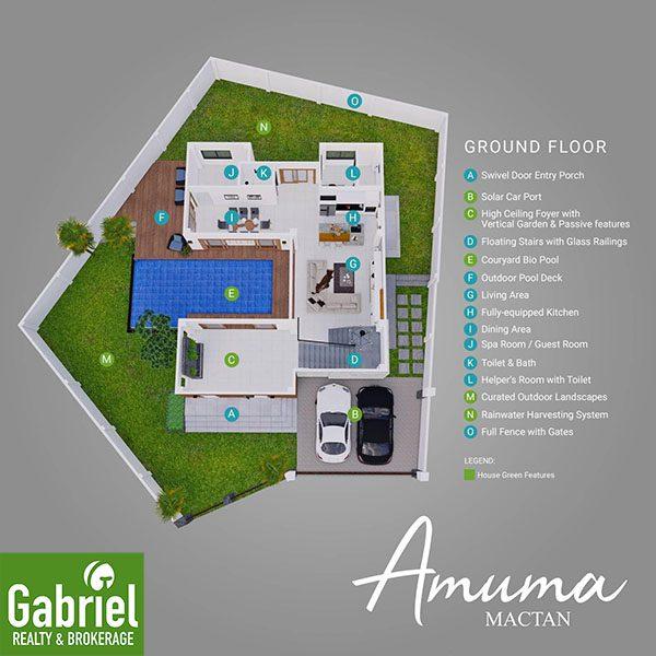 floor plan of amuma mactan beach resort