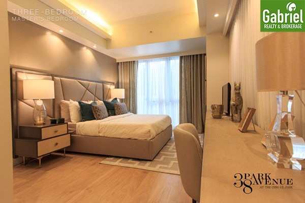 3 bedroom floor lay out, 38 park avenue