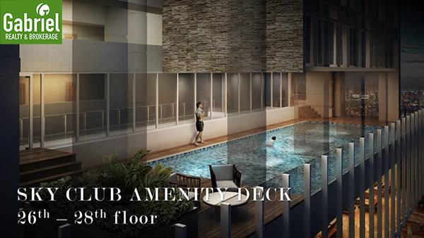 sky club amenity deck