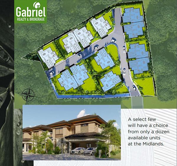 site development plan of the midlands at casa rosita