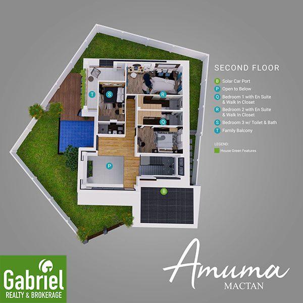 floor plan of amuma mactan beach house