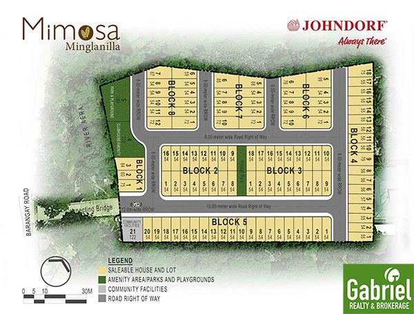 site development plan of mimosa minglanilla