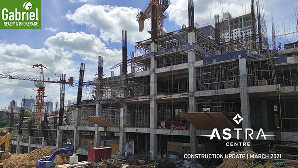 construction update of astra centre condominium