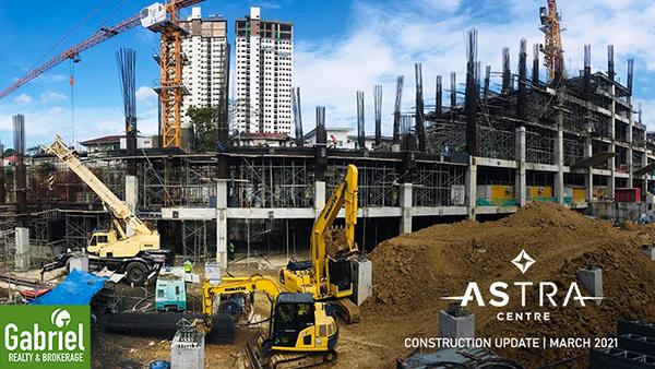 construction update of astra condominium
