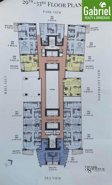 Building master plan of 38 park avenue