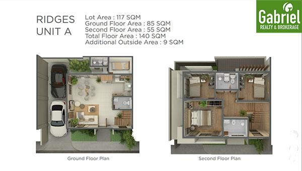 floor plan of casa rosita in paseo arcenas banawa