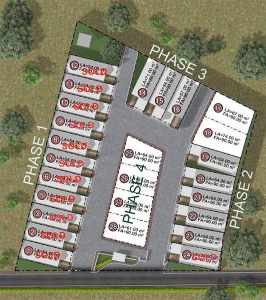 master plan of amirra residences talisay