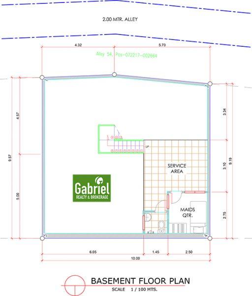 basement floor plan of amirra residences busay