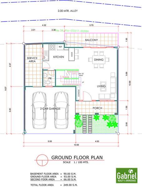 amirra residences busay ground floor plan