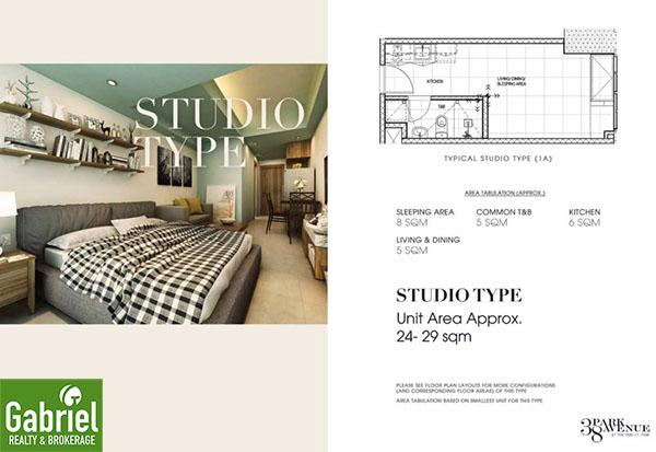 studio floor lay out, 38 park avenue