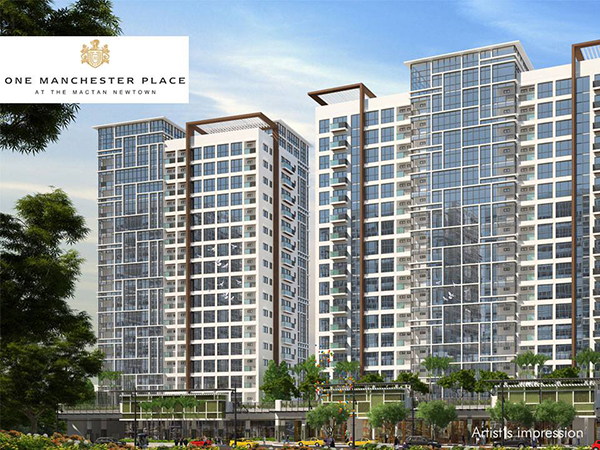 condo for sale in one manchester place mactan newtown
