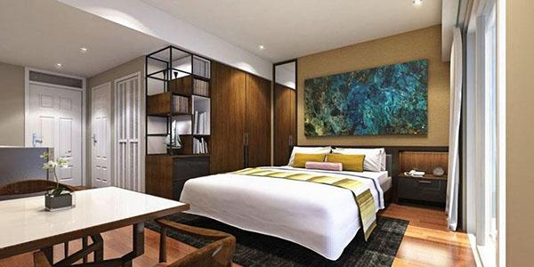 studio floor plan, amani grand resort residences