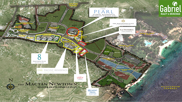 8 Newtown Boulevard Mactan Newtown, site development plan