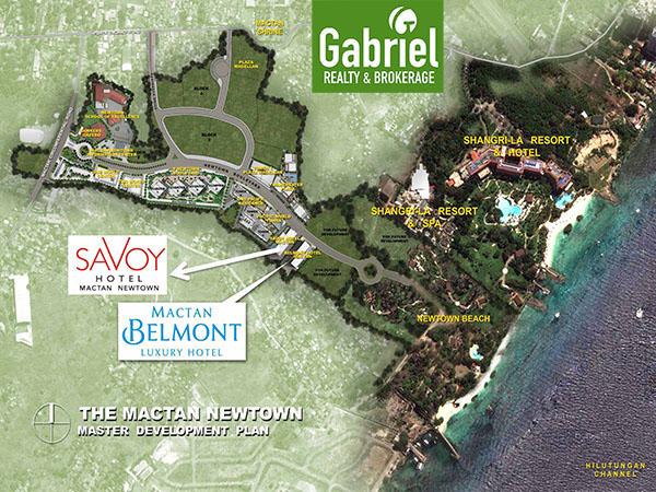 savoy hotel mactan newtown vicinity map