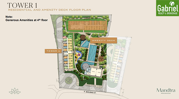 mandtra residences floor plan