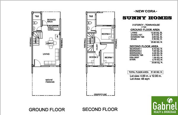 floor plan, sunny homes danao