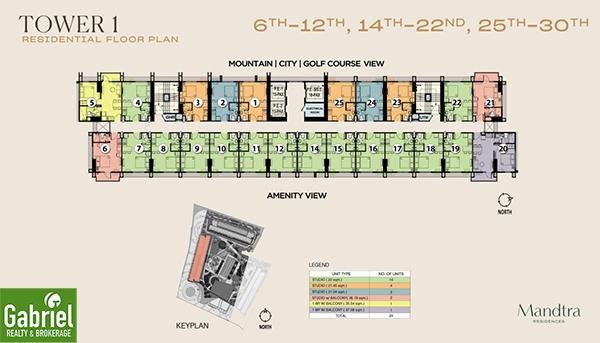 mandtra residences building floor plan