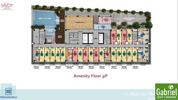 building floor plan of savoy hotel