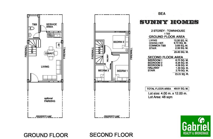 bea model townhouse in sunny homes danao